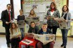 Besuch der Sparkassen-Lesepaten an der Freiherr-vom-Stein Realschule plus